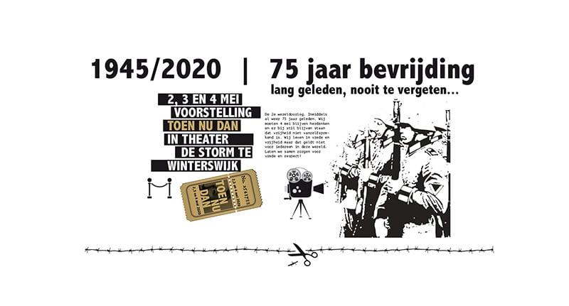 Toen Nu Dan concept bevrijding Winterswijk