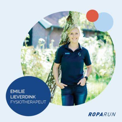 Roparun Emilie Lieverdink