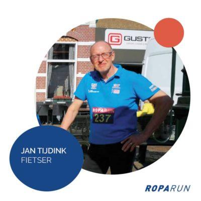 Roparun Jan Tijdink