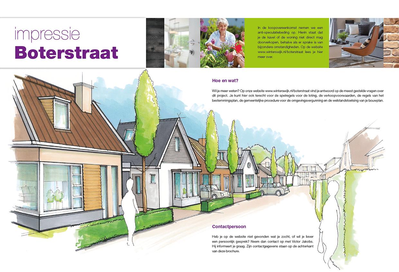 gemeente Winterswijk Boterstraat nieuwbouw artist impression