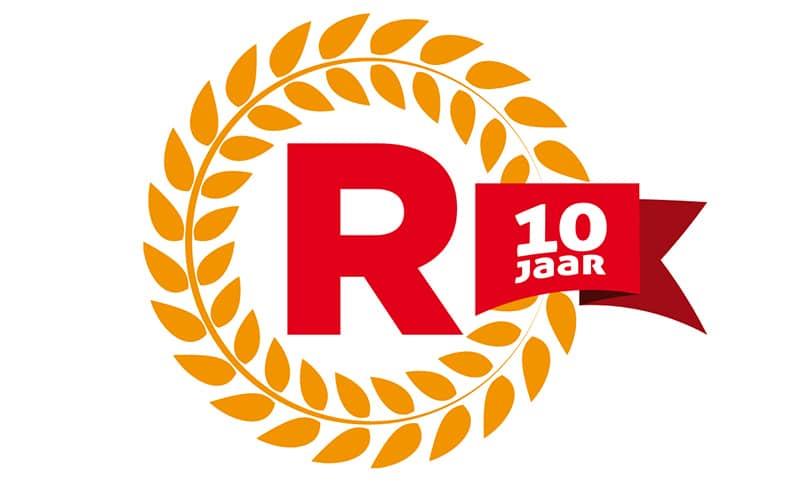 Jubileum logo De Revolutie Winterswijk